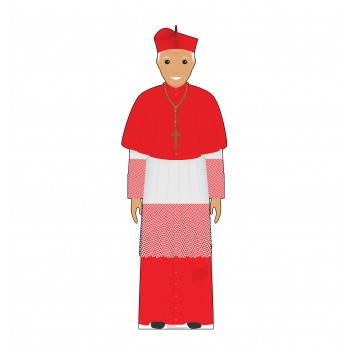 Pope Red Outfit (Illustrated) - $39.95