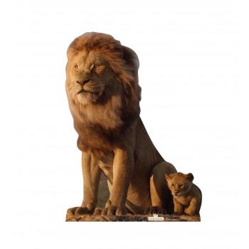 King Mufasa & Young Simba (Disney's The Lion King Live Action)