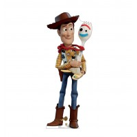 Woody & Forky (Disney/Pixar Toy Story 4) - $39.95