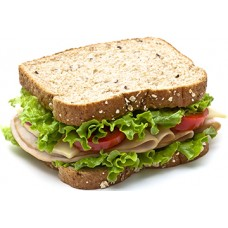 Deli Sandwich Cardboard Cutout