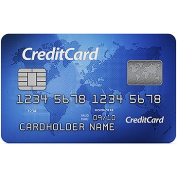 Credit Card Cardboard Cutout - $39.95
