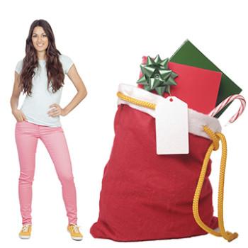 Santa Sack Cardboard Cutout - $49.99