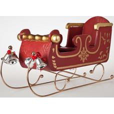 Classic Santa Sleigh Cardboard Cutout