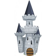 Tower Castle Cardboard Cutout