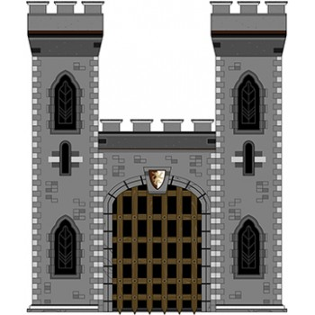 Medieval Style Castle Cardboard Cutout - $49.99