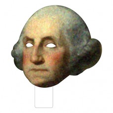 FKB25001 George Washington Cardboard Mask
