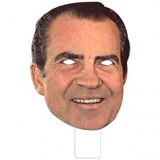FKB25037 Richard Nixon Cardboard Mask