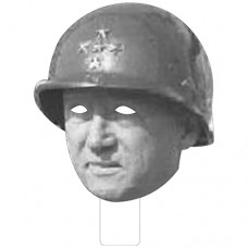 FKB33140 General Patton Cardboard Mask