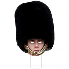 FKB58058 British Palace Guard Cardboard Mask