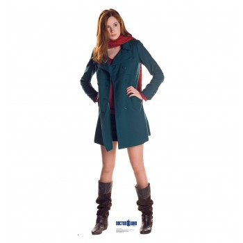 Amy Pond Doctor Who Cardboard Cutout