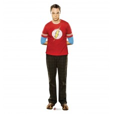 Sheldon Red Shirt Big Bang Theory