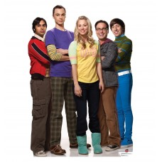 Raj, Sheldon, Penny, Leonard, and Howard Big Bang Theory