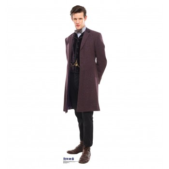 Doctor Who Purple Coat (11th Doctor) Cardboard Cutout