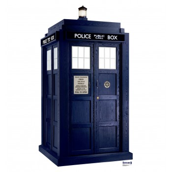 Tardis Season 6 (Doctor Who) Cardboard Cutout - $39.95