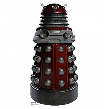 Red Dalek (Doctor Who) Cardboard Cutout - $39.95