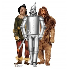 Tinman, Lion and Scarecrow Wizard of Oz 75th Anniversary