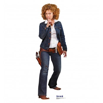 River Song Doctor Who Cardboard Cutout
