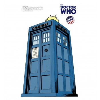 Tardis - Mini Comic  (Doctor Who) Cardboard Cutout - $9.95