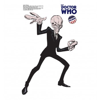 Silence - Mini Comic  (Doctor Who) Cardboard Cutout - $9.95