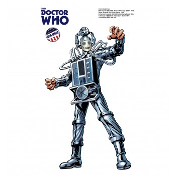 Cyberman - Mini Comic  (Doctor Who) Cardboard Cutout - $9.95