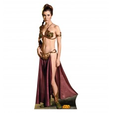 Princess Leia Slavegirl Star Wars (Retouched)