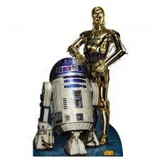 R2 D2 and C 3PO Star Wars (Retouched)