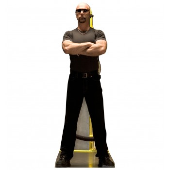 Club Bouncer Cardboard Cutout
