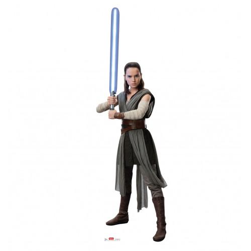 Rey (Star Wars VIII The Last Jedi) Cardboard Cutout