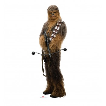 Chewbacca Holding Bow (Star Wars VIII The Last Jedi) Cardboard Cutout - $39.95