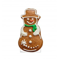 Gingerbread Snowman Cookie Christmas