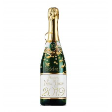 New Year Champagne Bottle