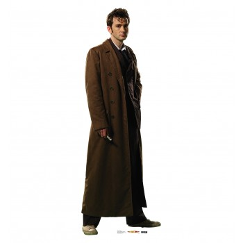 Doctor Who Overcoat 10th Doctor Cardboard Cutout