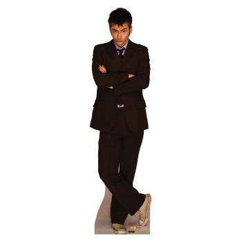 Doctor Who 10th Doctor Cardboard Cutout