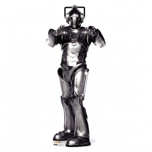 Cyberman Doctor Who Cardboard Cutout