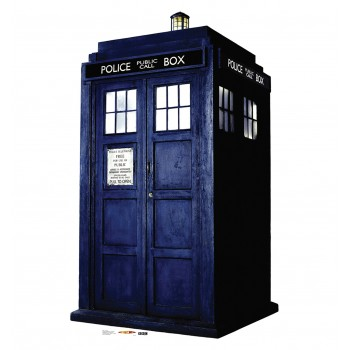 The Tardis Doctor Who Cardboard Cutout - $39.95