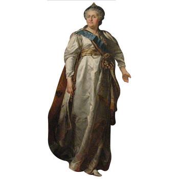 Catherine the Great Cardboard Cutout