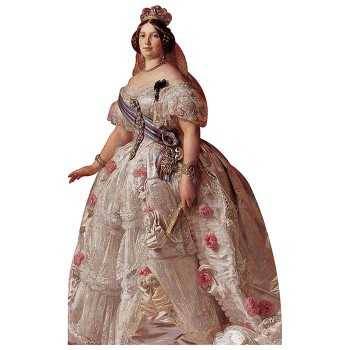 Isabella II of Spain Cardboard Cutout - $0.00
