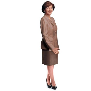 Laura Bush Cardboard Cutout - $0.00