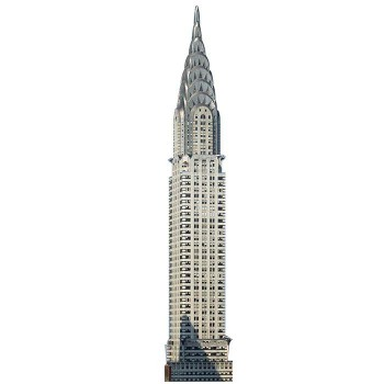 Chrysler Building Cardboard Cutout