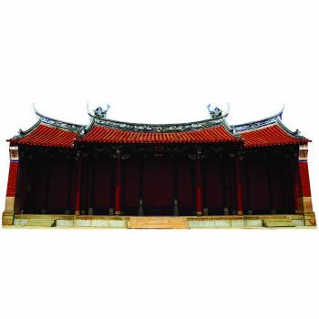 Confucious Temple Cardboard Cutout