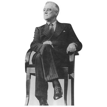 Franklin Roosevelt Chair Cardboard Cutout