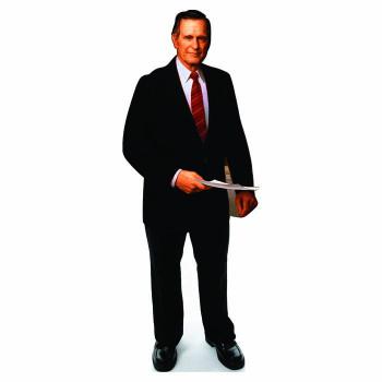 George H. W. Bush Senior Cardboard Cutout