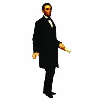 Abraham Lincoln Cardboard Cutout - $0.00