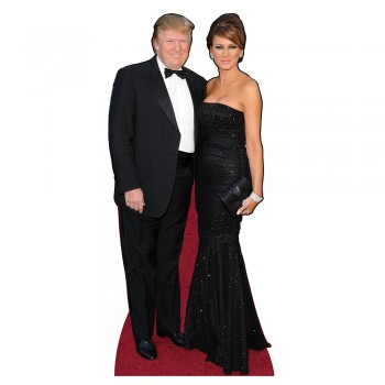 Trump Formal Cardboard Cutout - $0.00