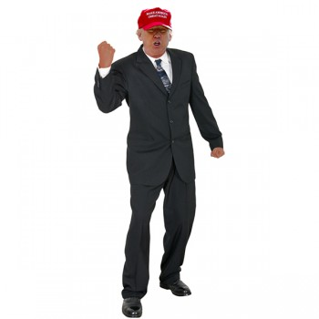 V1 Donald Trump Red Hat Version 1 Cardboard Cutout - $0.00