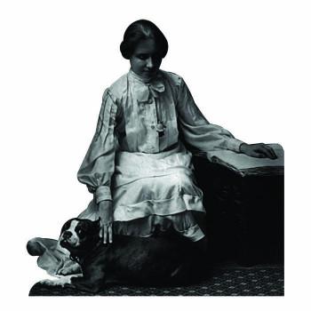 Helen Keller Cardboard Cutout