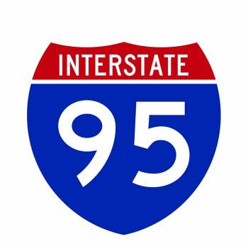 I-95 Sign Cardboard Cutout - $0.00