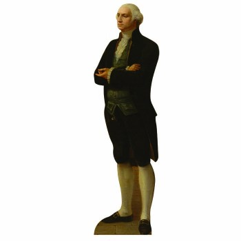 George Washington Cardboard Cutout - $0.00