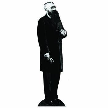 Auguste Rodin Cardboard Cutout - $0.00