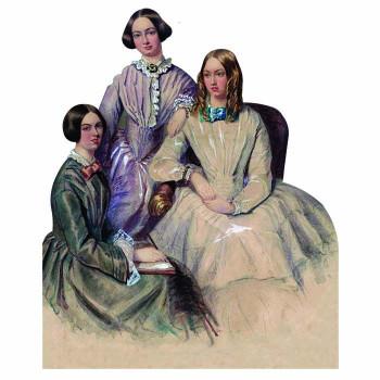 Bronte Sisters Cardboard Cutout